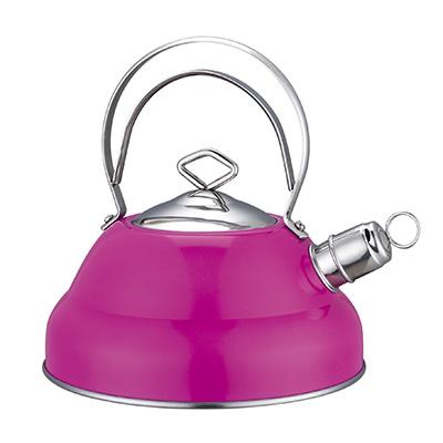 Чайник стальной розовый металик 3,0л 847-015