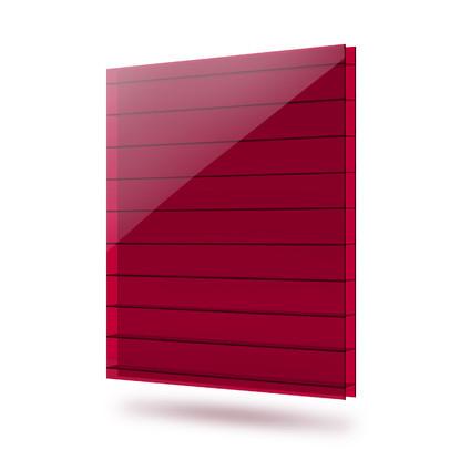 Поликарбонат 8мм красный