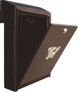 Ящик почтовый Врезной(медный)Польский