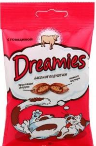 Dreamies 30г с говядиной