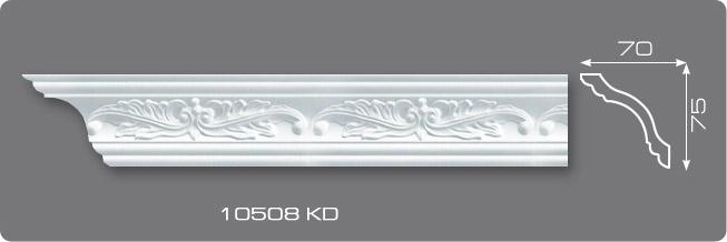 'Плинтус потолочный 10508 KD