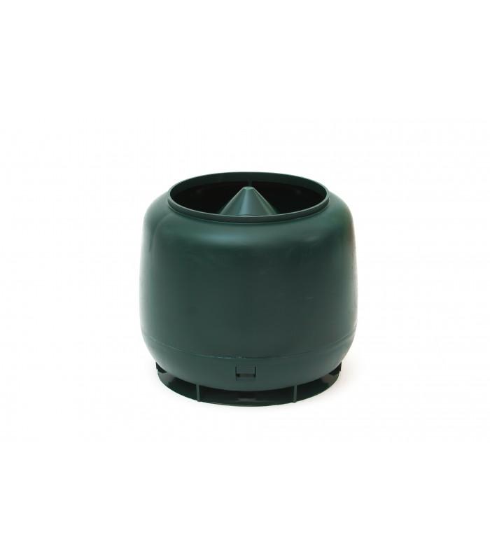 Колпак для вент. трубы ф110 мм зеленый