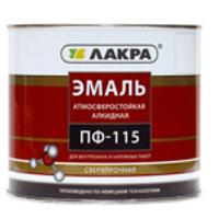 'Эмаль ПФ-115 (Лакра Синтез) белый глянец 2,8 кг