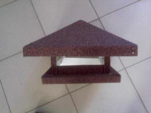 Зонт 640х1040 коричневый