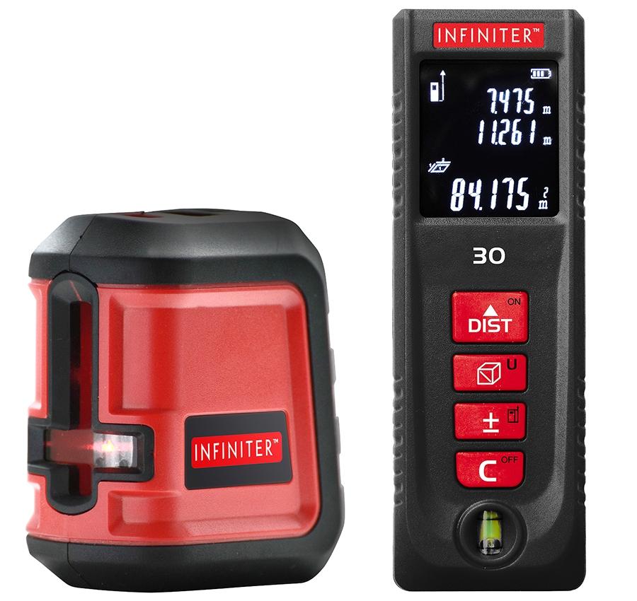 Лазерный нивелир INFINITER Master Kit