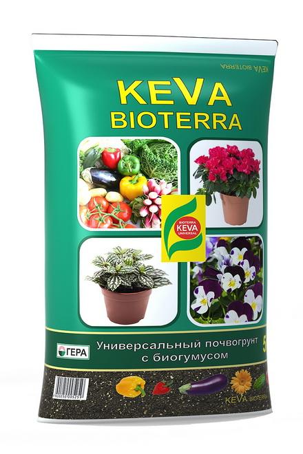 Грунт KEVA BIOTERRA 5л