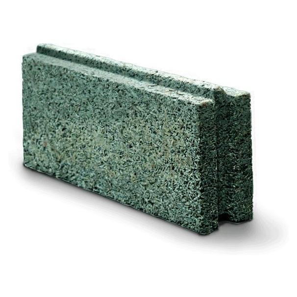 Блок WOODBE 500х200х100 пазогребневый перегородочный блок