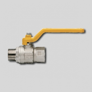 Кран газовый 1/2 ГШ ART 067 рычаг