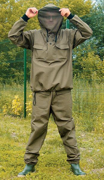рыболовный костюм от гнуса