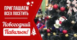 С 1 ноября приглашаем в новогодний павильон 2019-2020